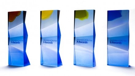 Australian of the Year Award trophies created at ANU