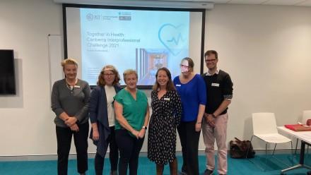 health care challenge, collaboration, ANU, UC, multidisciplinary, interprofessional