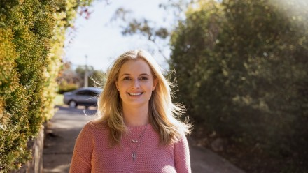 Photo of Yvette Wooff, PhD Scholar