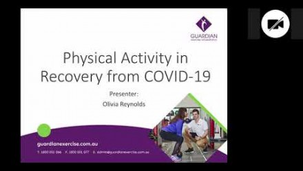 Physical Activity in Recovery from COVID19