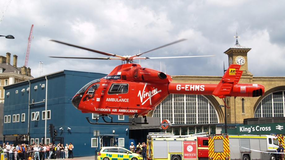 London Helicopter Emergency Medical Service elective, Royal