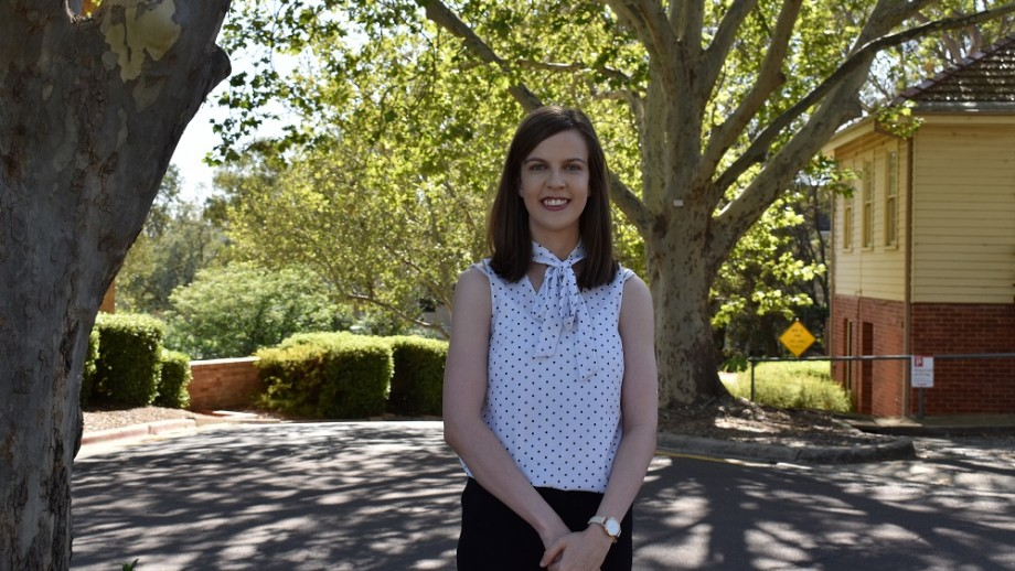 Photo of Peta O'Brien, Bill Nicholes Scholarship recipient