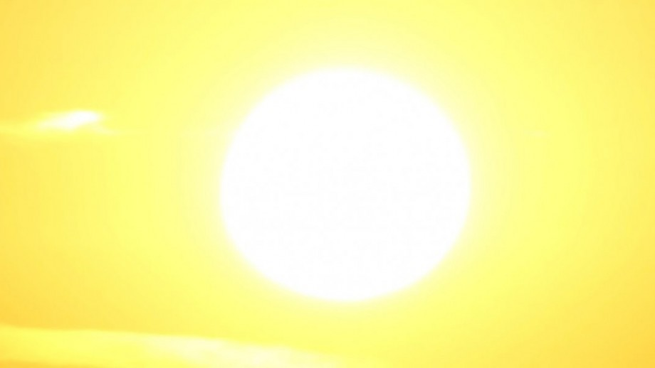 picture of hot sun